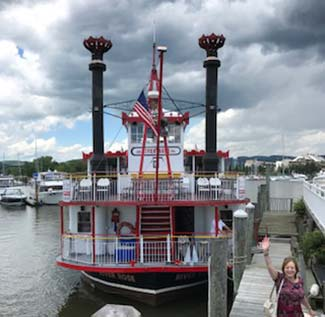 River Rose Mississippi-style paddle wheeler