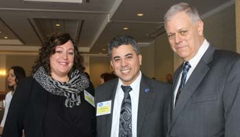 New Members Brooke Malloy, Rockland Pride Center, John Rivera, Insperity and Mark O'Connell, Citrin Cooperman CPAs.