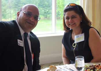 Barry Dorfman, Liberty Mutual Group joins new member Gloria Papasophocles, CPA