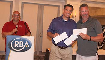 2nd Place Winners:  Ralph Travaglini, Steve Porath and Robert McKeon (not pictured here)