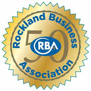 50th Anniversary Rockland Business Association Seal