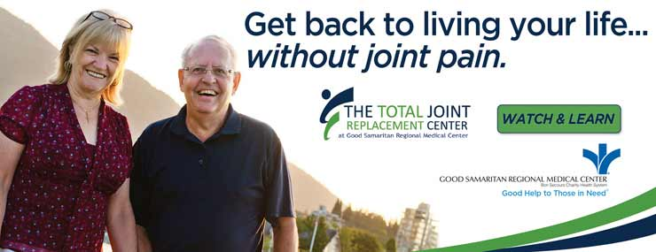 Good Samaritan Regional Medical Center's Total Joint Replacement Center